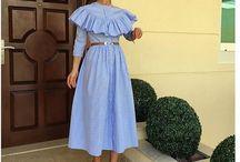 Хлопковое платье