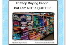 Sewing/Crafting Humour / Crafting and sewing - some people call it a hobby. We call it an obsession!