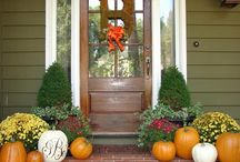 Season Porch Decor Ideas / by Paige Canobbio
