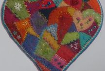 felt patch work