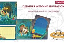 DESIGNER WEDDING CARDS / Exclusive and Wide Range of Designer Wedding Cards By Madhurash Cards