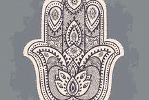Fatima Hamsa Tattoo