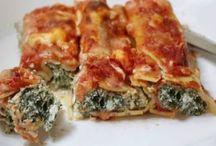 Pâtes/lasagnes/cannellonis