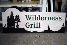 3-D Carved Signs by Envirosigns