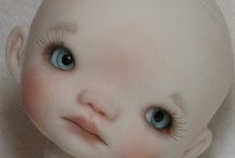 CLOTH DOLL FACE & EYES  how to