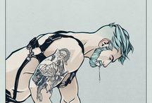 Homoerotic art