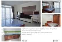 Apartment for rent in Phom Penh / List all apartment available for rent in Phnom Penh
