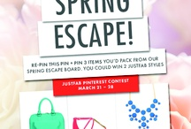Just Fab ❀ღ✿•*  Spring Escape `*•✿ღ❀ / by Nancy Reid