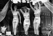 vintage window displays