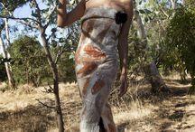 Night in the Bush Series / Artist/Designer: Zuhal Kuvan-Mills/GREEN EMBASSY Photographer: David Collins Model: Remy Hair & Make-Up: Remy
