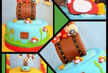 Donkey Kong Birthday Party / by Diana Walker