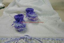 Παπουτσακια πλεχτα. / Χαριτωμενα παπουτσακια για μικρά ποδαρακια.Γιουλη Μαραβελη τηλ 2221074152