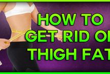 How to get rid of Thigh Fat, How to Lose Weight in your Thighs & How to get rid of Lower Belly Fat / https://www.youtube.com/watch?v=VwT7ZXPZTqo Fat accumulations in thighs are mostly prevalent in people having a pear shaped body.