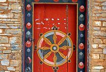 Unusal doors to ones inner being