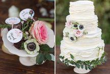 Wedding: cake, food