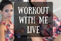 WORKOUT WITH ME! LIVE