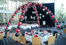 Dance Floor Canopies / Draw everyone onto the dance floor with the fun and excitement of balloons