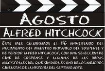 Claqueta de Agosto 2015: Alfred Hitchcock / Selección de películas que se encuentran en la colección de la Biblioteca de Sant Joan d'Alacacant