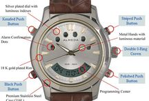 Anatomy of the Multi Alarm Almeda Watch / For more details visit http://www.almedatime.com/anatomy-of-the-watch/