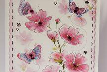 Kanban Precious Petals / Inspiration using Kanban Precious Petals Papercraft Collection