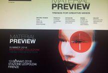 """Material Preview 2015 / Presentazione in anteprima delle Collezioni """"L'Officina"""" Summer '16"""
