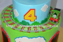 thomas and friends cakes