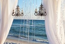 Beach /  What woman don`t wants to get married on a beautiful beach with all her family and friends a dream come true
