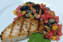 Dishes with Fishes / by Chef Carrie Hegnauer
