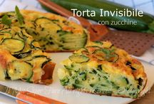 Torta invisibile di zucchine