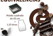 Equivalencias de cocina / by elgourmet