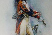 La Grande Armee de Napoleon / troupes du 1 er empire, ligne + Garde impérial