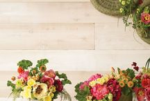 tablescapes and arrangements / by Carissa Jones