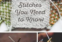 k n i t / Knitting and yarn / by Krista Lemke