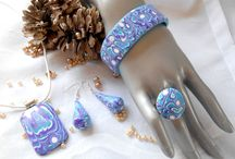 Bijoux pâte fimo et perles