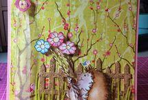 OCS - Flowers / ONECRAZYSTAMPER.COM - Handmade cards with Flowers