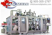 #Can #Mold #Plastics Company / It is the brand name used for our EBM (Extrusion Blow Mold) and IBM range of equipment. http://tinyurl.com/ne8k7st