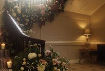 Floral Staircase / Large scale Staircase designs for weddings and events