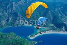 Activities in Oludeniz Fethiye Hisaronu / Activities in Oludeniz, Hisaronu, Calis and Fethiye Turkey