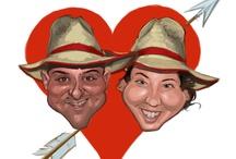 Caricaturas de San Valentín