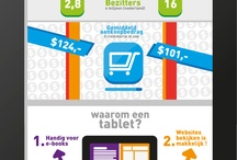 Tablets infographics / by Frankwatching