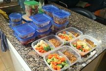 Meal Prep / Clean foods to keep me fueled / by Tünde Clark