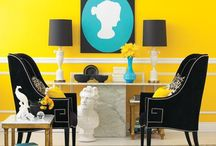 Say Hello to Yellow / Yellow is warm, friendly and fun.  Learn how to bring a little bit of sunshine into your home with a yellow room and sunny accents.