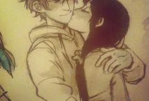Abraços de casal