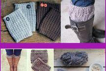 knit bootcuffs