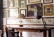 Inspiration: workspace / Stylish workspace for vintage lovers