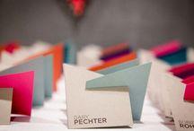 modern wedding | escort cards & seating charts