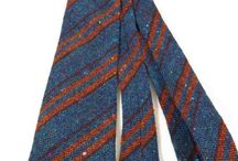 Tweed Ties / Men's tweed ties. Buy modern & vintage tweed ties online at Tweedmans Vintage.