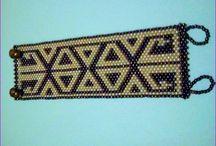 Peyote bracelets / Creatii proprii