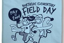 Field Day Shirts- One Color Designs / Keep it simple with a one color field day shirt!  Mighty nice.  Mighty easy.
