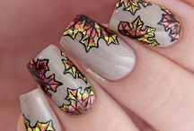 Nail art - Fall